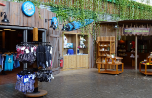 Tropical Islands Shopping Läden
