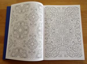 moses Verlag Collection Art-thérapie 1001 Nacht Malen & Entspannen Beispielseite