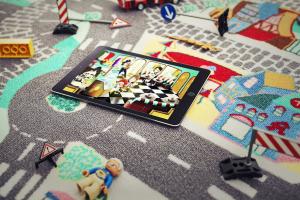 Teppino Spielteppich meine Stadt App