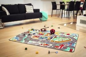 Teppino Spielteppich App Unsere Stadt